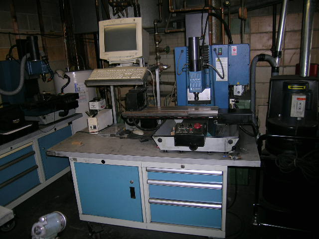 Pro-Lite 2000, 4th Axis,w/Toolchanger,P.C,Cabinet Base