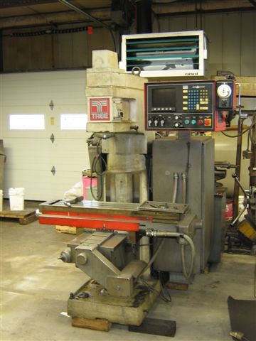 Tree Journeyman325,Delta Dynapath20,27 X,14 Y,6 Z,Man Knee Trv 15.75 ,50-3500 RPM,3HP