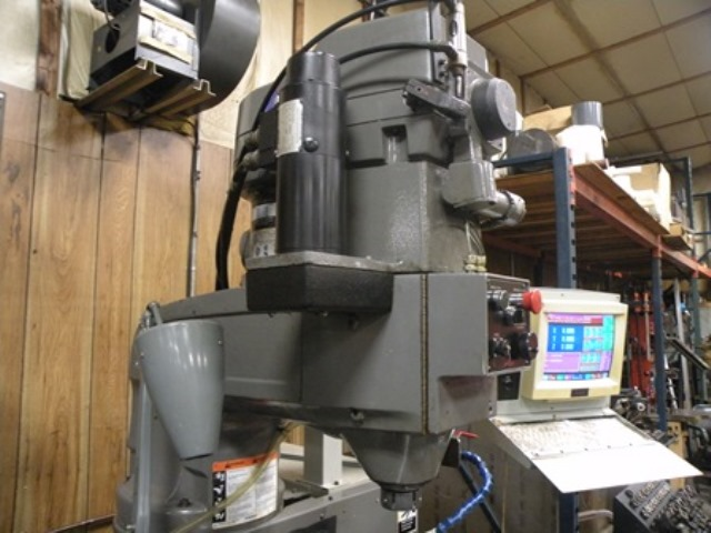 Bridgeport Explorer X-26, DX 3, 3HP, 60-4200 RPM Infinitely Variable, 26 Travel, 50 x 16 table, #30 quick change spindle